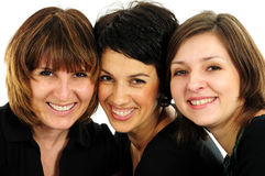 Groupe heureux d'amis photos stock