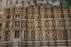Groupe Jain de temples, Khajuraho, Inde photo stock