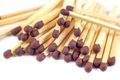 Groupe of match sticks isolated on white background Stock Image