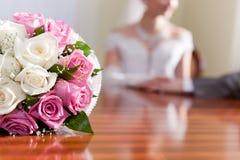 Groupe pour la mariée Photo stock