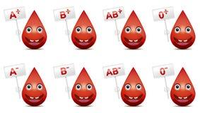 Groupe sanguin photos stock