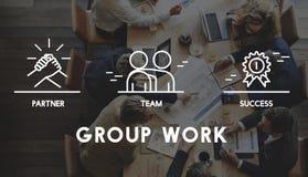 Groupe Team Work Organization Concept Photo libre de droits
