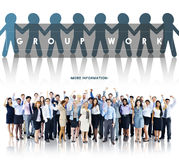 Groupe Team Work Organization Concept photo stock