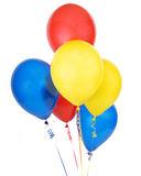 Groupe tout de ballon Photos stock
