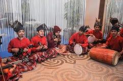 Groupe traditionnel de musique Image stock
