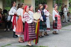 Groupe vocal authentique de l'Ukraine Photos libres de droits