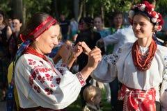 Groupe vocal authentique de l'Ukraine Image stock