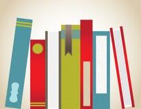 Groupement empilé de livres Image libre de droits