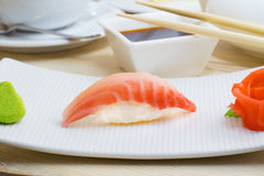 Grouper sushi nigiri Royalty Free Stock Photo