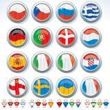 Groupes d'euro 2012 Photographie stock libre de droits