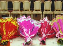 Groupes de fleurs Photographie stock libre de droits