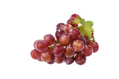 Groupes de raisins. Image stock