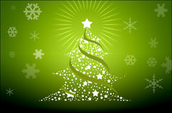 Groupes de vacances de Noël, illustrés avec grand Images stock