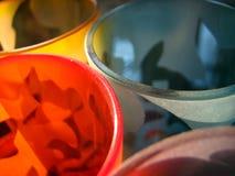 Groupes de verre Images stock