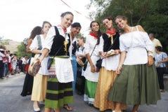Groupes folkloriques Photo libre de droits