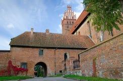Groupes polonais d'architecture de basilique Photographie stock