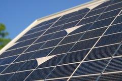 Groupes solaires Photos stock