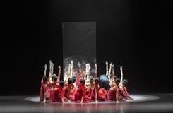 """Groupez le  de shelter†de dance""""No du ` s de rideau-Huang Mingliang d'évier-miroir Images libres de droits"""