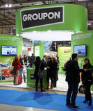 Groupon at BIT 2013 Stock Photography