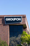 Groupon kontor i Silicon Valley Arkivbilder