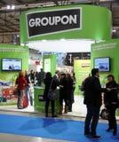 Groupon an STÜCKCHEN 2013 Stockfotografie