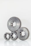 Groups of gears on isolated Royalty Free Stock Images