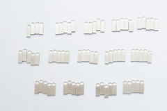Groups of Memory Sticks Royalty Free Stock Images