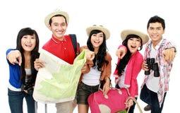 Groups of tourists Stock Photos