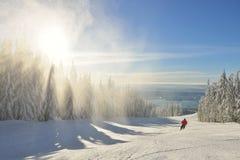 Grouse Mountain Ski Hills Stock Images