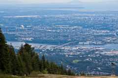 Grouse Mountain Vancouver Stock Image
