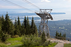 Grouse Mountain Vancouver Royalty Free Stock Photo
