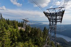 Grouse Mountain Vancouver Royalty Free Stock Image