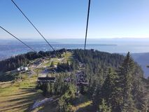 Grouse Mountain royalty free stock photos
