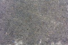 Grov asfaltväg, texturen av grov asfaltbeläggning, bästa sikt Arkivfoton