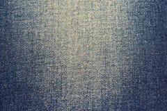 Grov bomullstvilljeanstextur Arkivbild