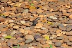 Grov hög av stenar Arkivbilder