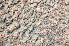 Grov kapitalvara texturerad stuckaturväggbeläggning Abstrakt patchy bakgrund Fotografering för Bildbyråer