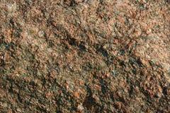 Grov och texturerad rosa granitbakgrund Arkivbilder