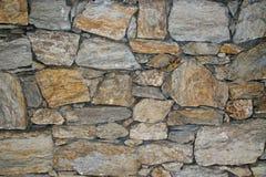 Grov sandstenvägg Arkivfoto