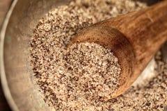 Grov socker och vanilj arkivfoto