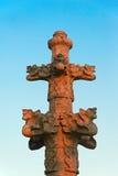 Grov spik med skenbilden på domtoweren, Utrecht, Nederländerna Royaltyfri Fotografi