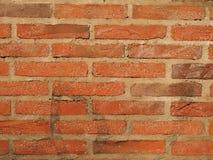 Grov tegelstenvägg Royaltyfria Bilder