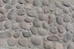 Grov textur av stenväggen bakgrund föder upp den steniga stenstrukturen för rocken Royaltyfri Foto