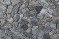 Grov textur av stenväggen bakgrund föder upp den steniga stenstrukturen för rocken Fotografering för Bildbyråer