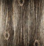 Grov yttersida av gammalt trä Royaltyfri Fotografi