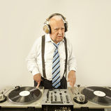 Großvater DJ Stockfoto