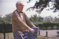 Großvater Frank-Geiger des Fotografen Joe Sohm Lizenzfreies Stockbild