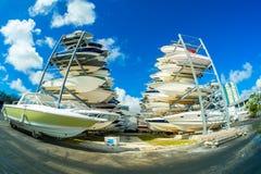 Grove Harbour Marina Stock Photos