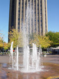 GroveFountain-USBank-UD Royalty Free Stock Images