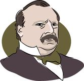 Grover Cleveland Stock Afbeelding